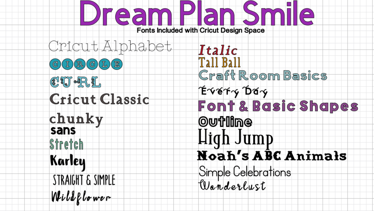 Cricut Design Space What Is Included For Free Explained With Pictures Dream Plan Smile